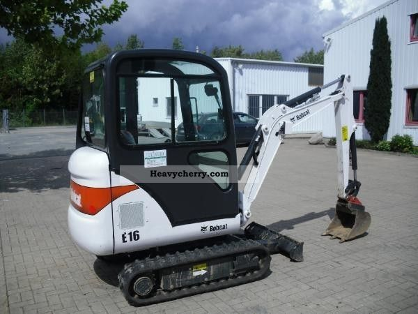 2011 Bobcat  E16 Construction machine Mini/Kompact-digger photo