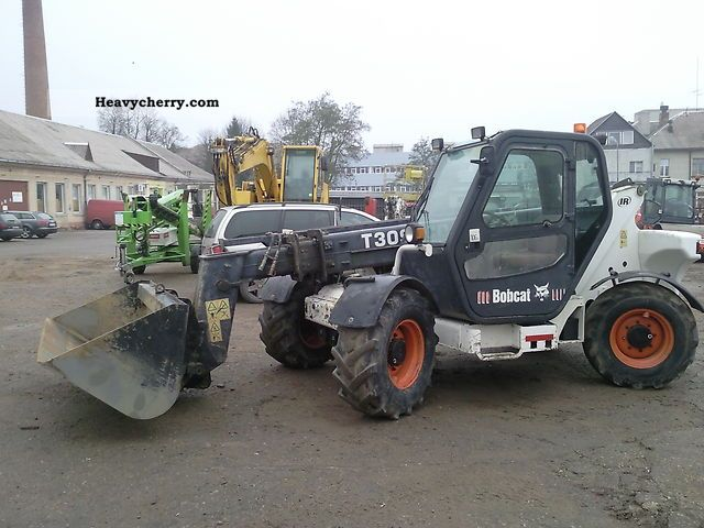 2003 Bobcat  T3093 CD Teleskopic LOADER Construction machine Other construction vehicles photo