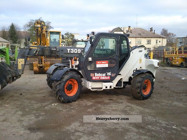 2003 Bobcat  T3093 CD Teleskopic LOADER Construction machine Wheeled loader photo