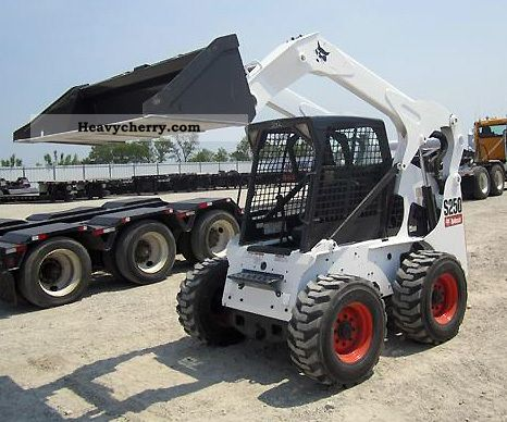 2009 Bobcat  S250 Construction machine Wheeled loader photo