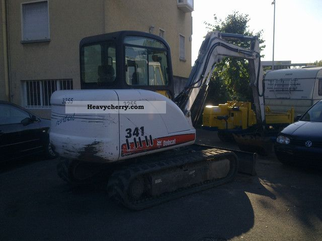 2006 Bobcat  341 Construction machine Mini/Kompact-digger photo
