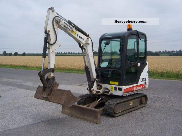 2007 Bobcat  328 G Construction machine Mini/Kompact-digger photo