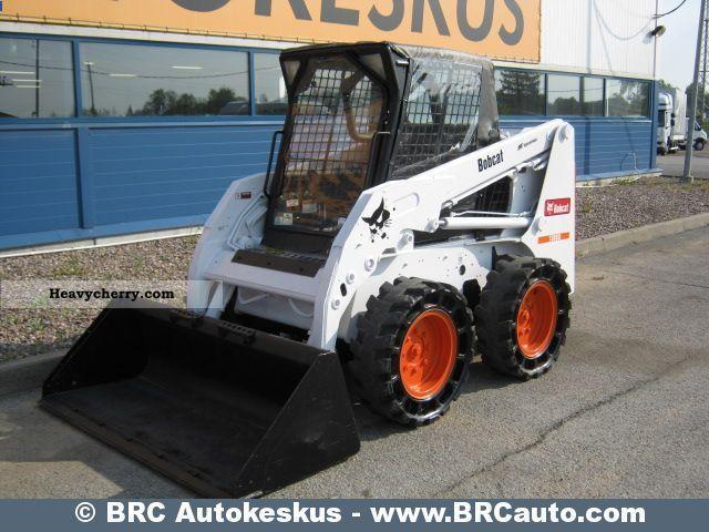2006 Bobcat  S160 Turbo Construction machine Mini/Kompact-digger photo