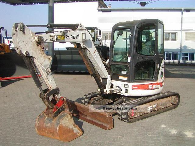2007 Bobcat  430 Construction machine Mini/Kompact-digger photo