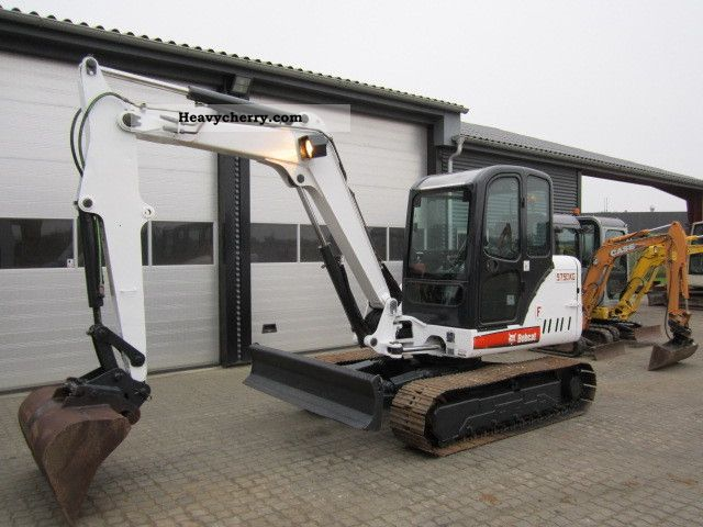 2007 Bobcat  341 Construction machine Mini/Kompact-digger photo
