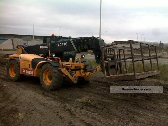 2003 Bobcat  T40-170 Telescopic handlers (Manitou) Construction machine Wheeled loader photo