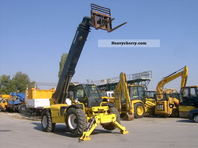 2003 Bobcat  40-170 Forklift truck Telescopic photo