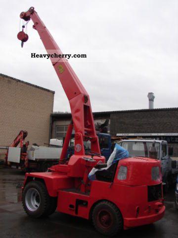 1966 Demag  Miag mobile crane Construction machine Construction crane photo