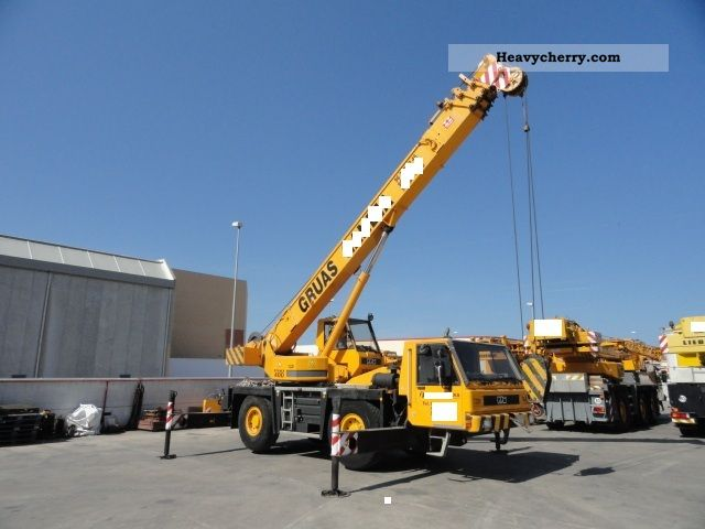 Demag Ppm At400 4x4x4 35ton M Mercedes Motor 1997 Top1 1997 Truck Mounted Crane Photo And Specs