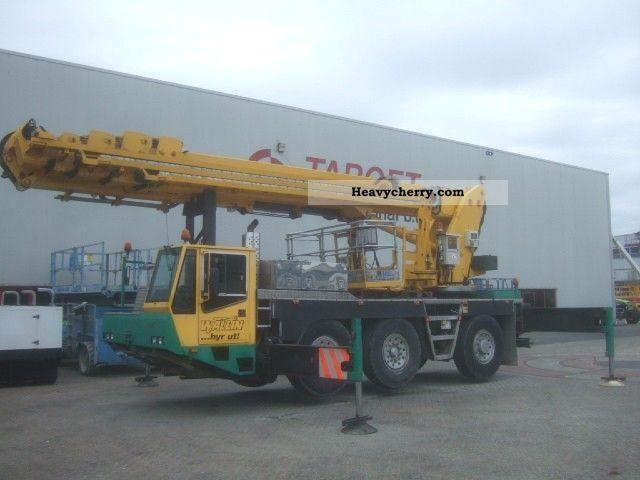 2002 Demag  K3205 6x6x4 Italmec Italjib 48N 48M Boom Lift Truck over 7.5t Hydraulic work platform photo