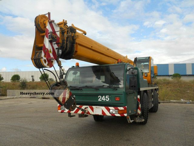 2002 Demag  PPM ATT 400 / 2 Truck over 7.5t Truck-mounted crane photo