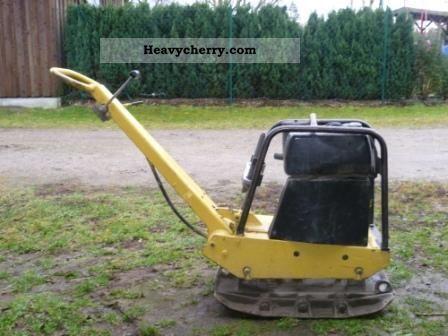 1995 BOMAG  BPR 30/38 Construction machine Compaction technology photo