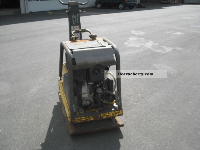 1998 BOMAG  BPR 75/60 HD-2 diesel electric start vibrating plate Construction machine Compaction technology photo