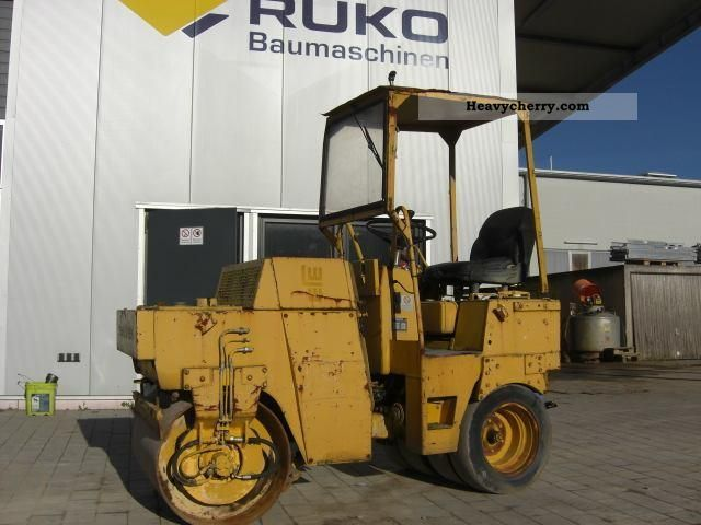 1991 BOMAG  BW 100 AC Construction machine Rollers photo