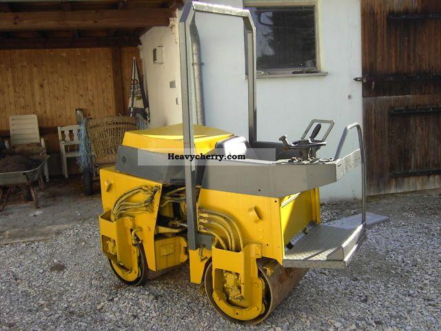 1991 BOMAG  BW 75 ADL diesel wheel Construction machine Rollers photo
