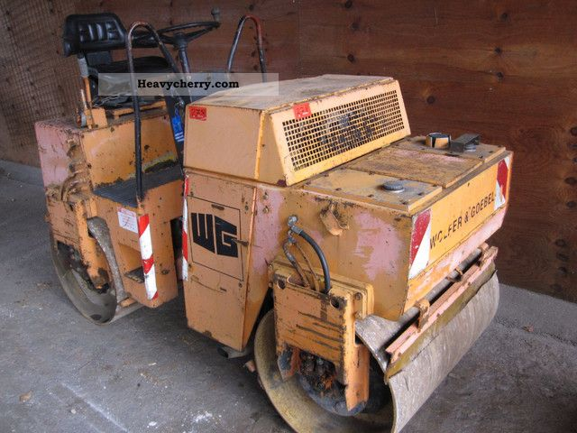1998 BOMAG  BW 100/AD 2-roller bandages Construction machine Rollers photo