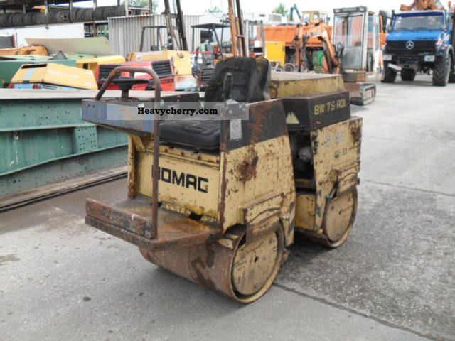 1987 BOMAG  BW 75 ADL Construction machine Rollers photo