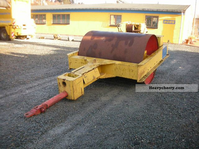 1991 BOMAG  Towed roller Construction machine Rollers photo