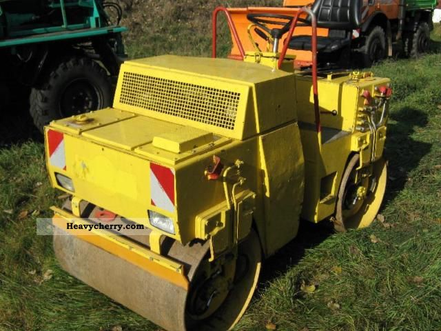1991 BOMAG  Tandem Roller BW 100 AD Construction machine Rollers photo