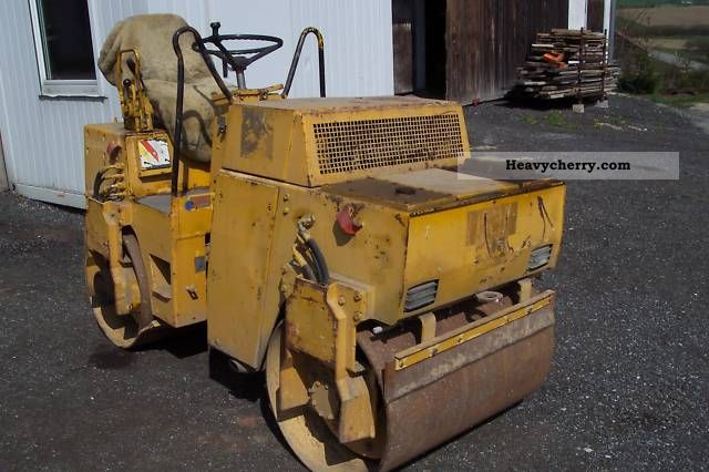 2011 BOMAG  Roller BW 100 AD to Deutz engine Construction machine Rollers photo