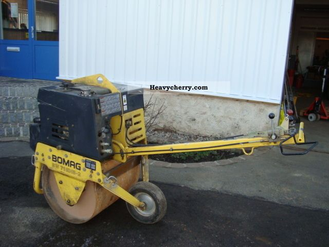 2003 BOMAG  BW 71E Construction machine Rollers photo