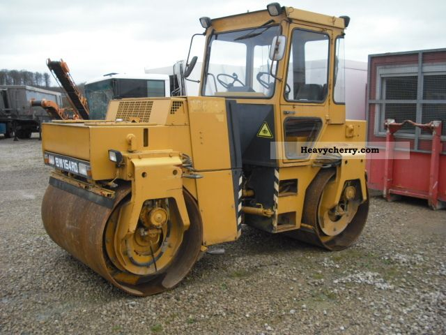 1988 BOMAG  Admit Teerschneider BW 154 4000 h 8990 k Construction machine Rollers photo
