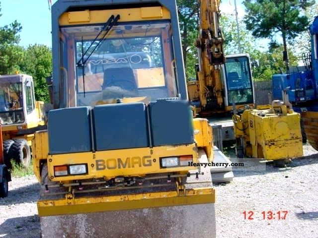 1995 BOMAG  BW 151 AC2 Construction machine Rollers photo