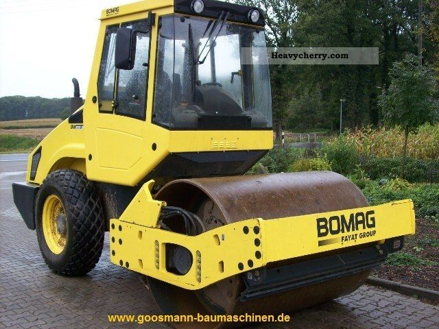 2011 BOMAG  BW177D-4 Construction machine Rollers photo