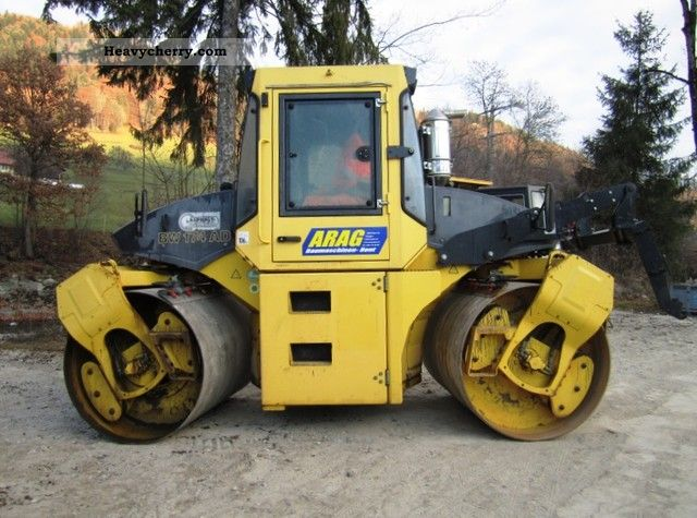 2003 BOMAG  BW174 AD Construction machine Rollers photo