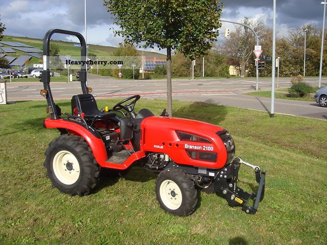 2011 Branson  2100 with 21PS-WHEEL IN STOCK Agricultural vehicle Tractor photo