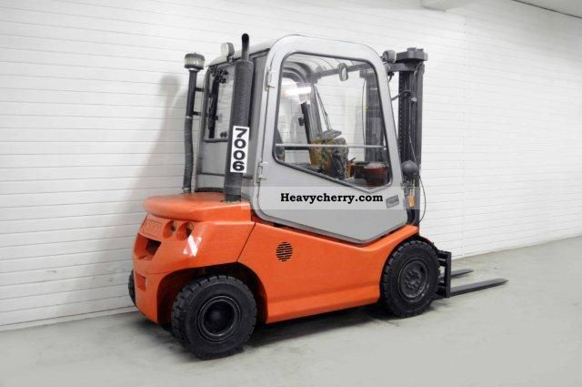 BT CBD 25, SS, CAB 2003 Front-mounted forklift truck Photo ...