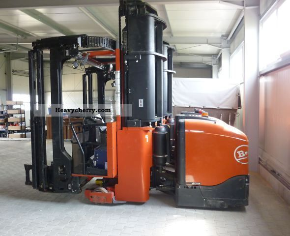 2006 BT  VCE 150 A, C 15 narrow aisle, with security system Forklift truck High-bay rack photo
