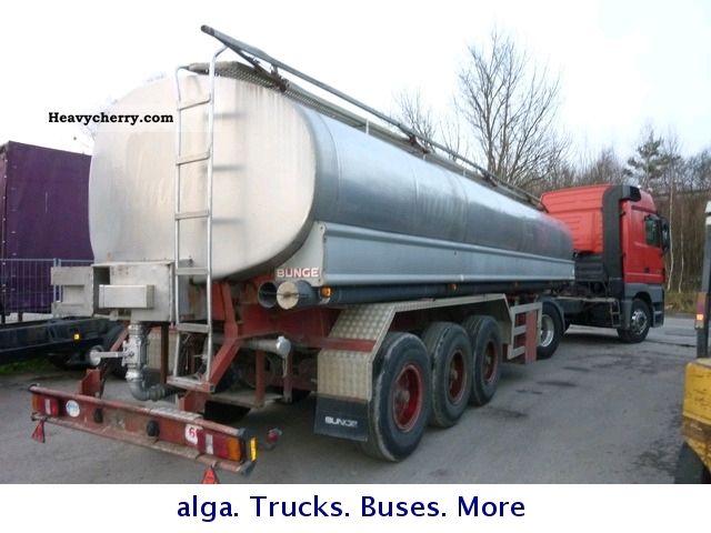 1983 Bunge  Food semitrailer 25m ³ Semi-trailer Tank body photo