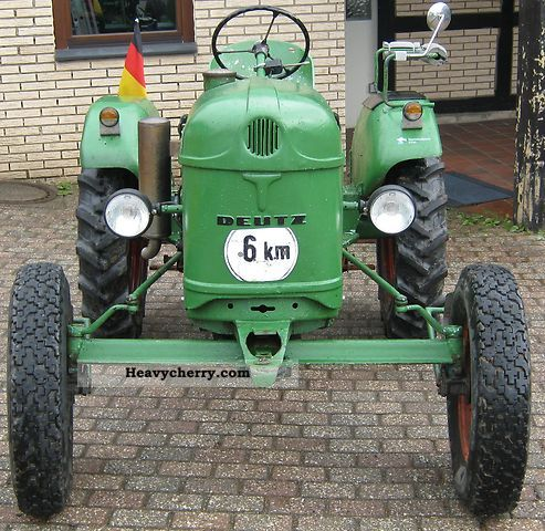1956 Deutz-Fahr  11er Agricultural vehicle Tractor photo