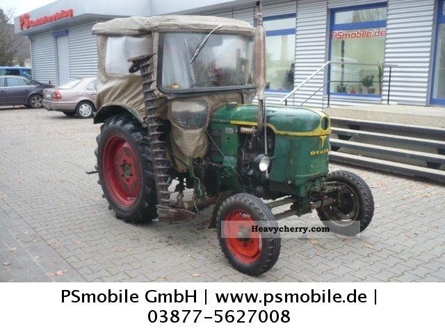 1959 Deutz-Fahr  25 \u0026 D mower with original letter! Agricultural vehicle Tractor photo