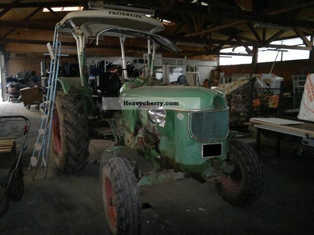1966 Deutz-Fahr  D 50.1S Agricultural vehicle Tractor photo