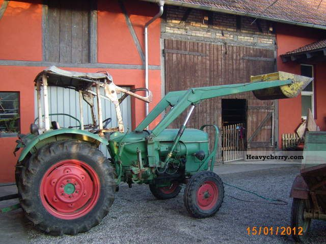 1966 Deutz-Fahr  4005 Agricultural vehicle Tractor photo