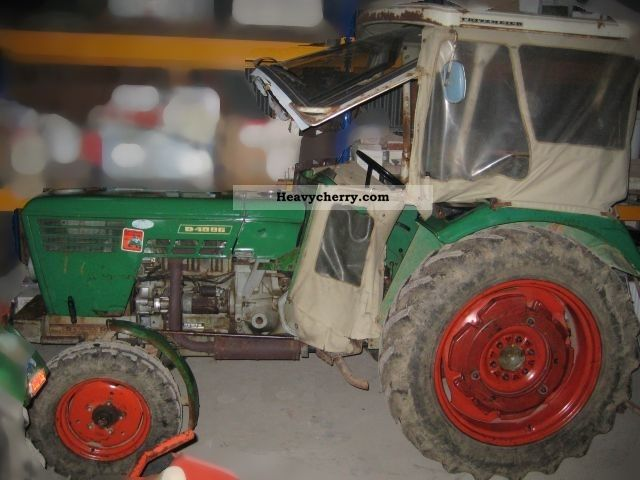 1972 Deutz-Fahr  4006 Agricultural vehicle Tractor photo