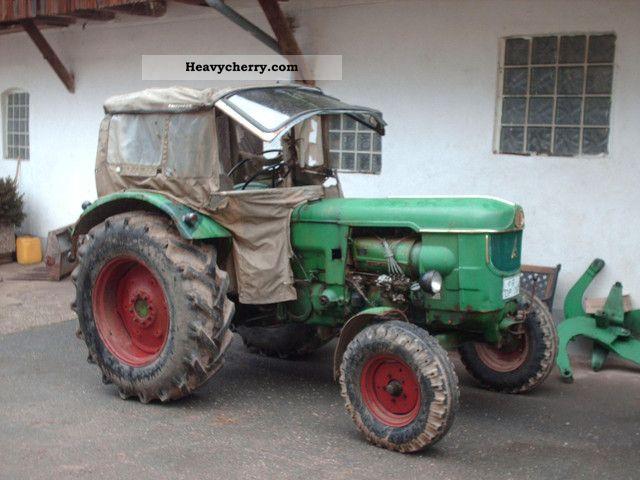 1967 Deutz-Fahr  6005 S Agricultural vehicle Tractor photo