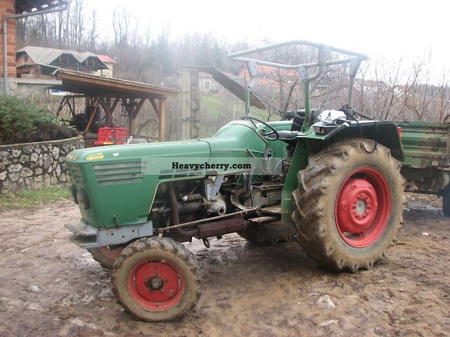 Deutz Fahr D5006 1969 Agricultural Tractor Photo And Specs