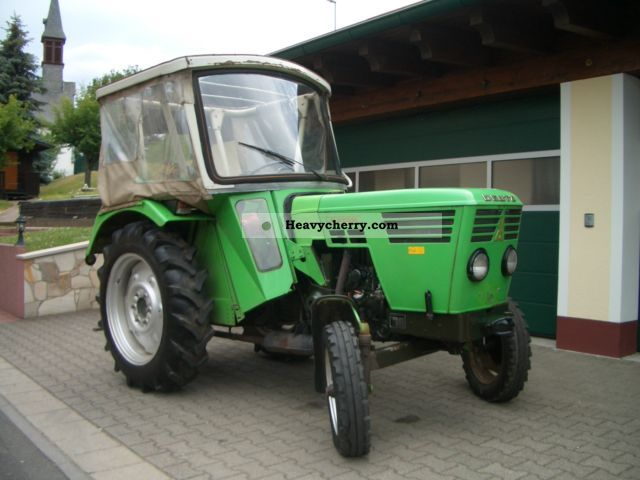 1974 Deutz-Fahr  2506 from 1 Hand with cab, MOT TOP! Agricultural vehicle Tractor photo