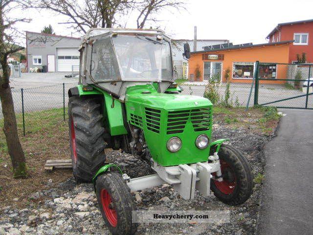 1971 Deutz-Fahr  6006, power steering Agricultural vehicle Tractor photo