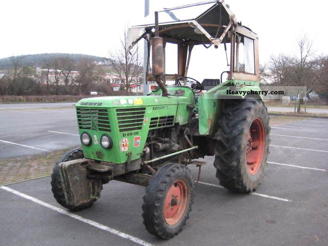 1975 Deutz-Fahr  6806 servo Agricultural vehicle Tractor photo