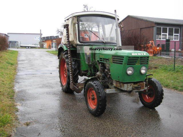 1973 Deutz-Fahr  5506 mower Agricultural vehicle Tractor photo