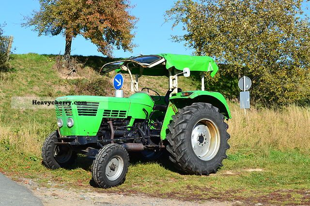 1968 Deutz-Fahr  6006 Agricultural vehicle Tractor photo