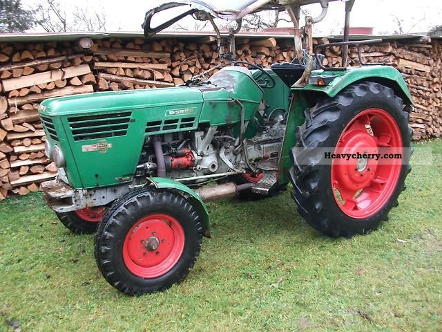 1969 Deutz-Fahr  5006 Agricultural vehicle Tractor photo