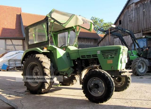 1974 Deutz-Fahr  D 5506 Agricultural vehicle Tractor photo