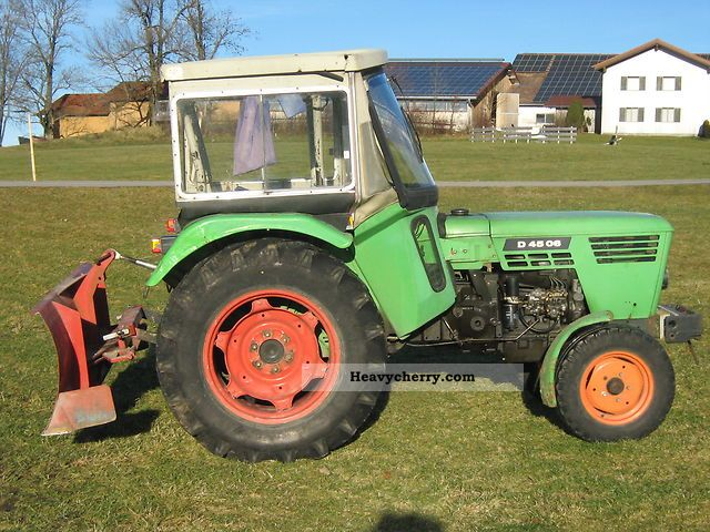 1976 Deutz-Fahr  4506 S Agricultural vehicle Tractor photo