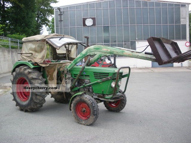 1969 Deutz-Fahr  5506S Agricultural vehicle Tractor photo