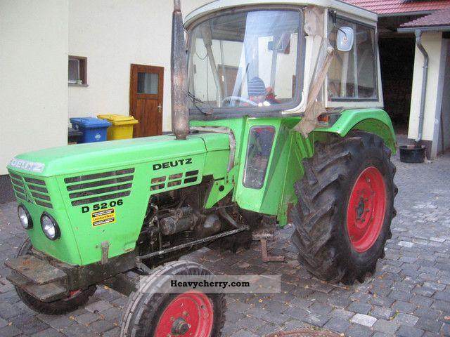 1977 Deutz-Fahr  5206 Agricultural vehicle Tractor photo